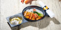 قرار دادن مواد غذایی در داخل ظروف یکبار مصرف گیاهی و آلومینیومی بلامانع است.