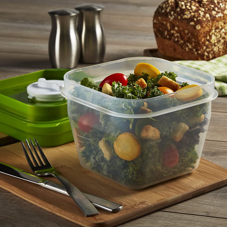 برای نگهداری غذا در ظروف پلاستیکی، از پلاستیکهای کمخطر استفاده نمایید.