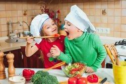 طراحی آشپزخانه برای ایمنی کودکان