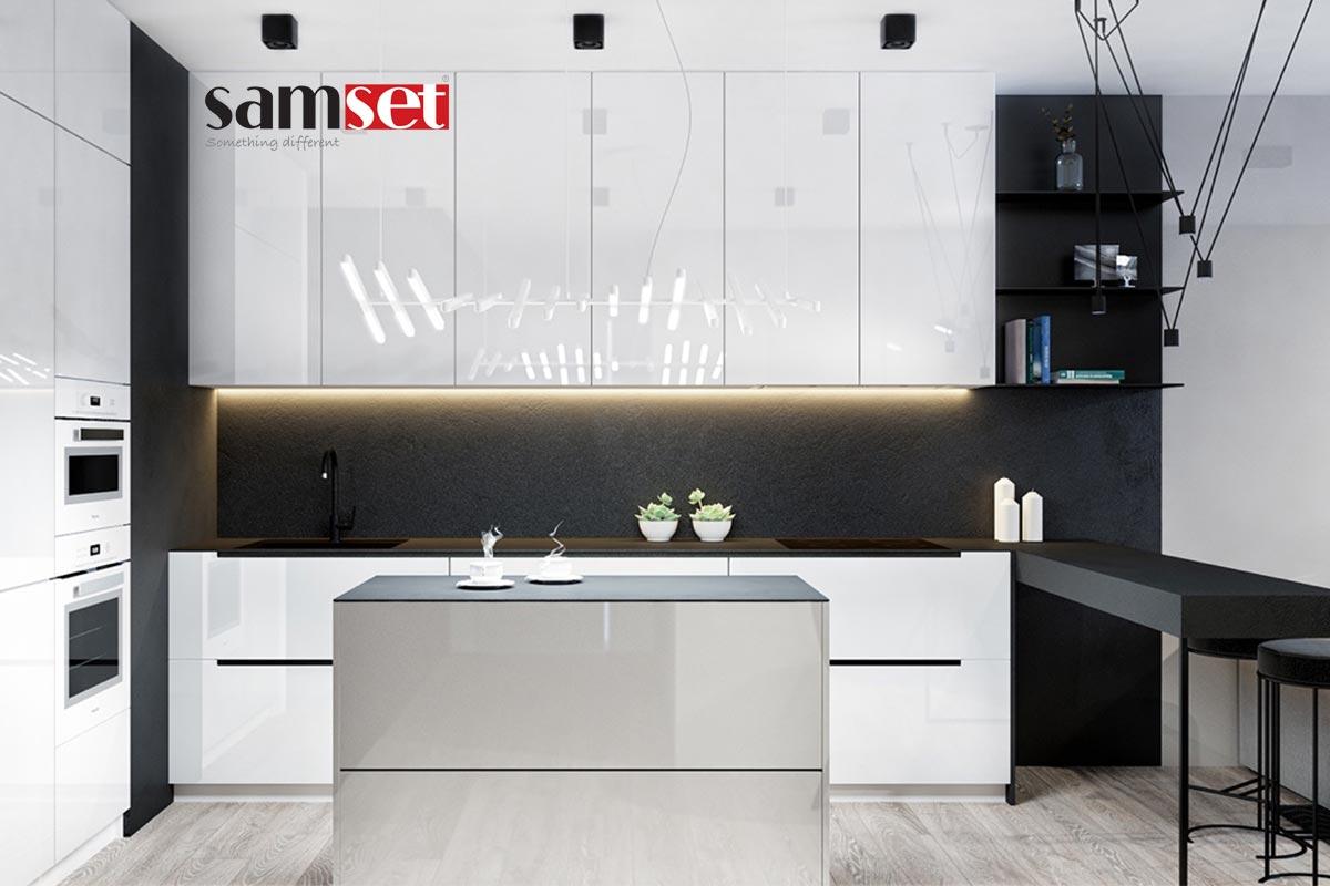 طراحی-آشپزخانه-با-رنگ-سفید