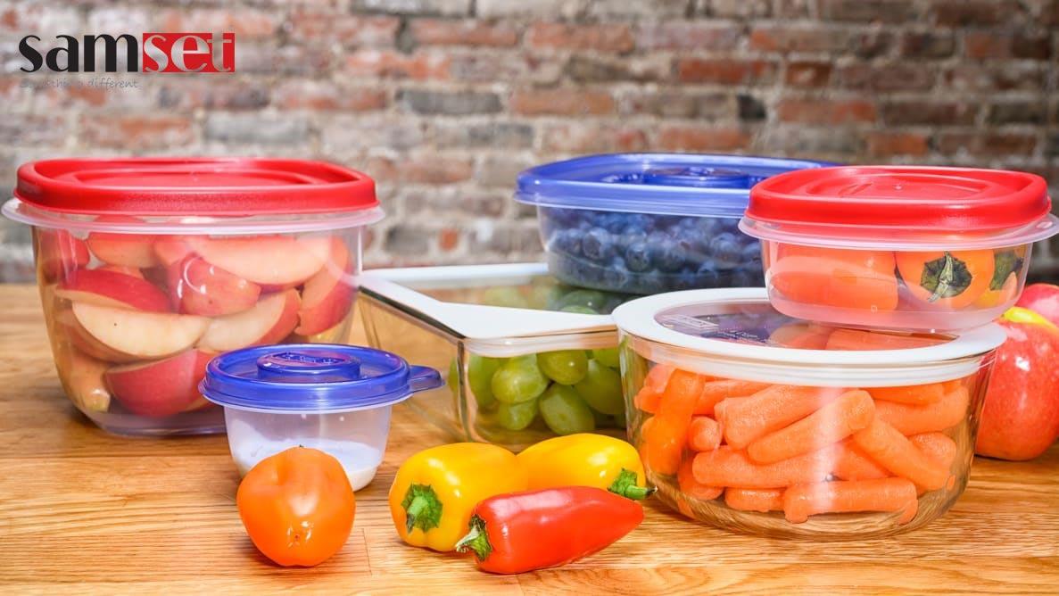 ظروف نگهداری غذا در آشپزخانه