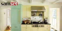 در جدیدترین طراحی آشپزخانه چه رنگهایی را با قهوهای ترکیب کنیم؟