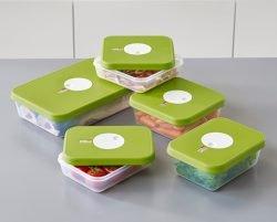ظروف برای نگهداری غذای در فریزر