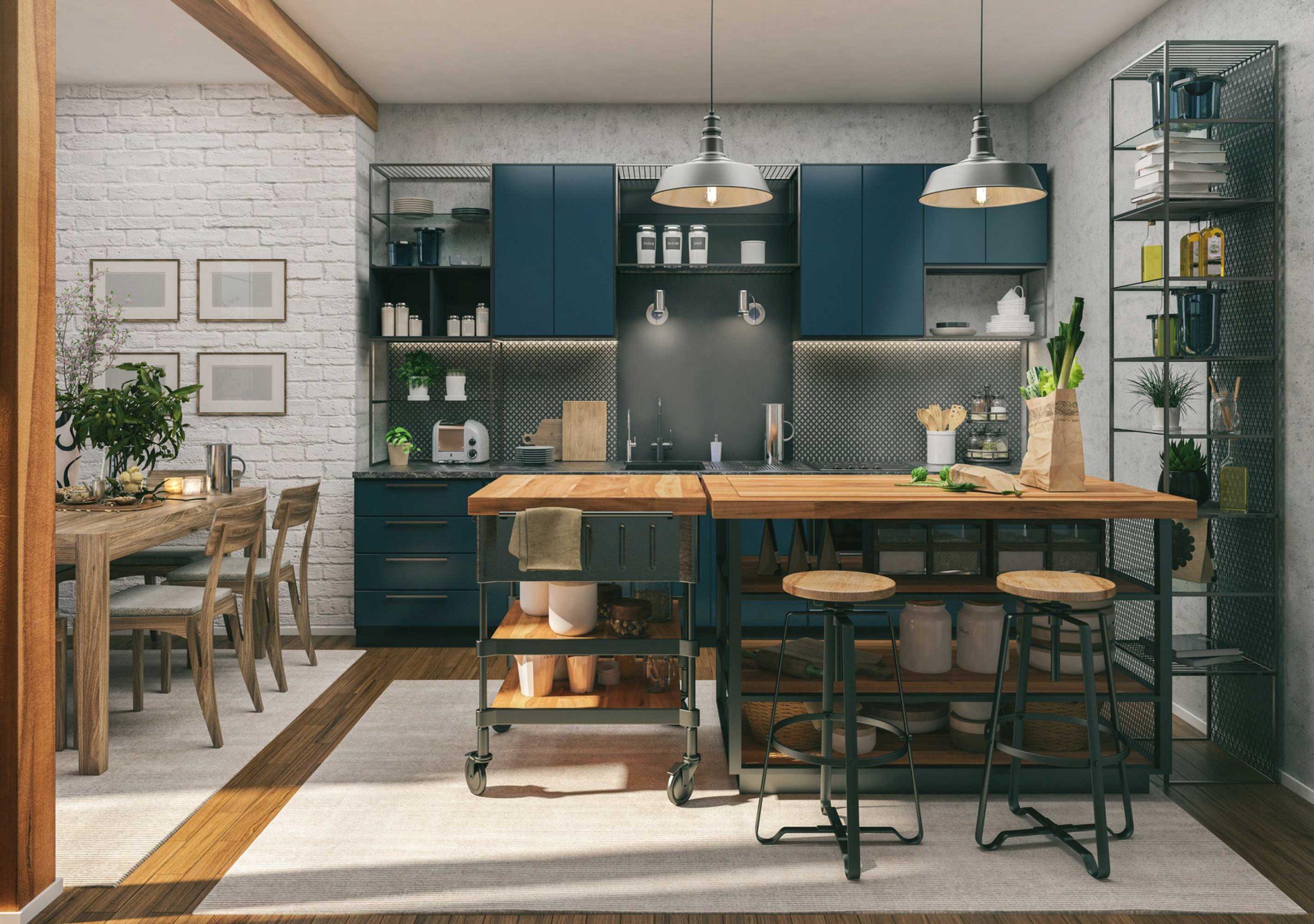 انتخاب رنگ وسایل آشپزخانه برای جهیزیه عروس اهمیت بالایی دارد.