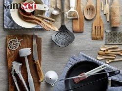 انواع مختلف سرویس ابزار آشپزخانه