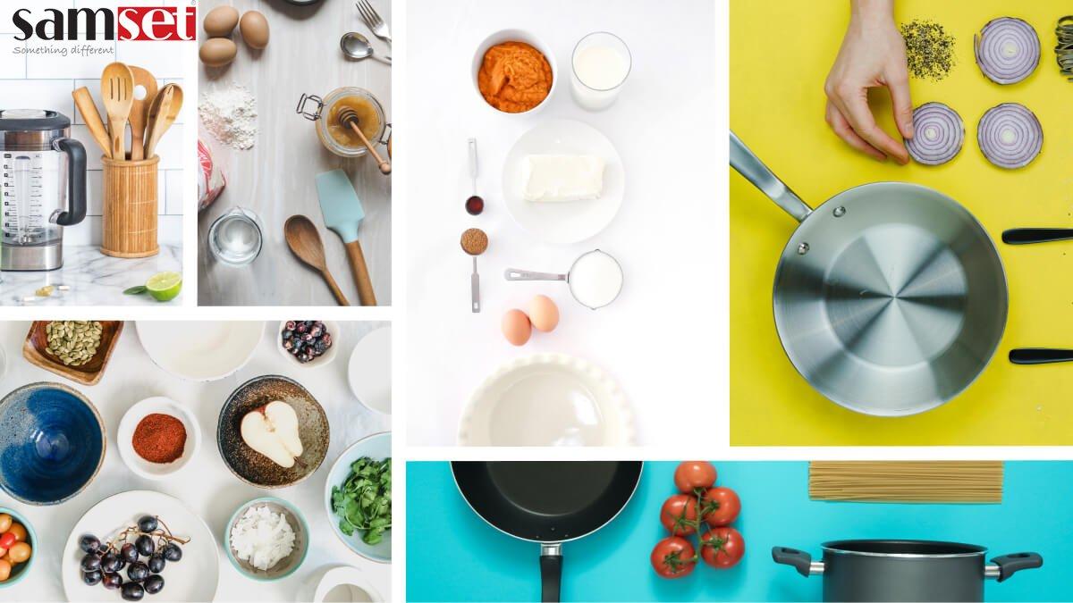 پر استفادهترین ظروف آشپزخانه برای غذاهای بین المللی